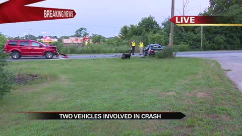Driver airlifted from Elkhart crash in serious condition